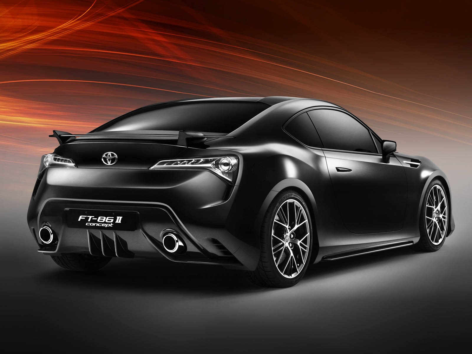 Superb 2012 Toyota FT86 Rear