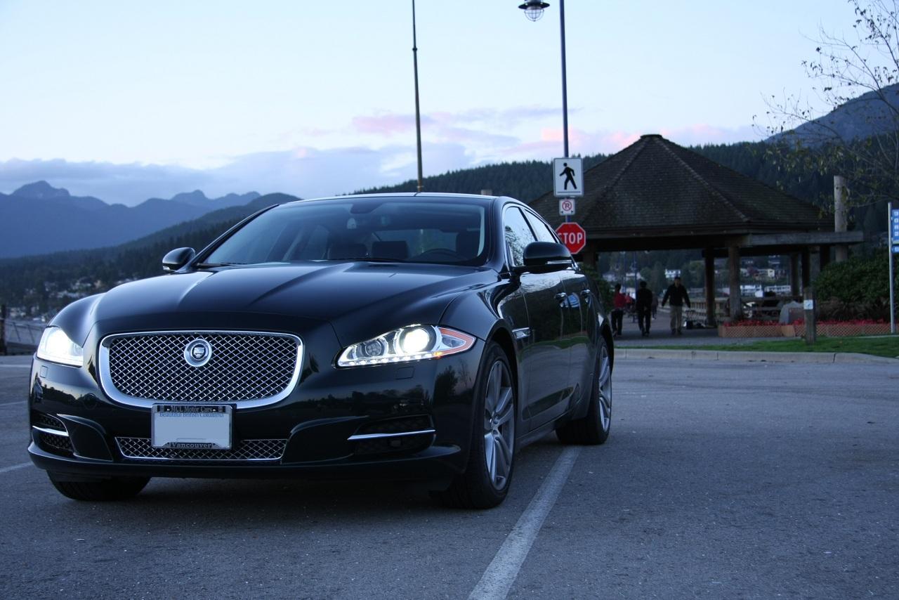 First Super Cars Test Drives The 2011 Jaguar XJ