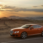 2011-Bentley-Continental-GT-Orange-Side