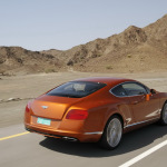 2011-Bentley-Continental-GT-Orange-Back
