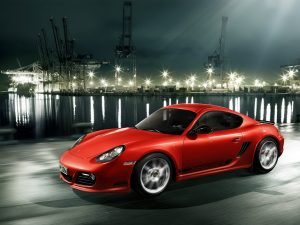2011-Porsche-Cayman-R-Red
