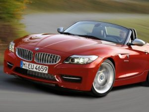2011-BMW-Z4-Red-Top-Down