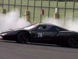 Ferrari-FXX-Doing-Donuts