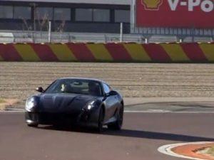 Spy-Shot-Ferrari-599-Replacement