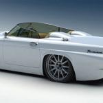 Bo-Zoland-1955-Ford-Thunderbird-Concept-White