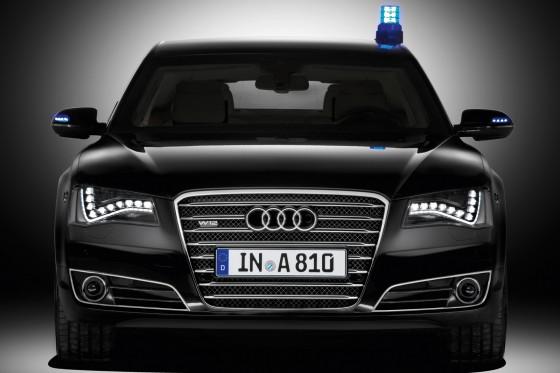 Armored Audi A8 L Security