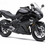 New black 2011 Kawaskai Ninja 650R