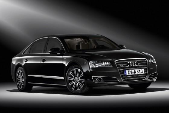 2012 Audi A8 L armored car