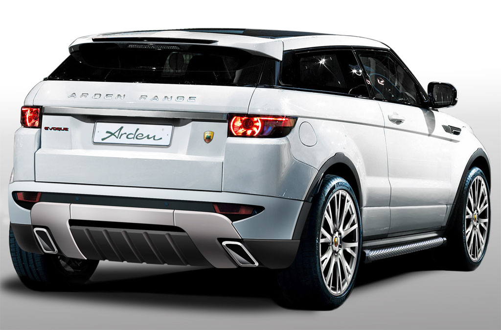 Arden Range Rover Evoque City Roader Back