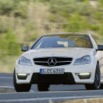 Mercedes-Benz-C63-AMG-Coupe-Front-Driving