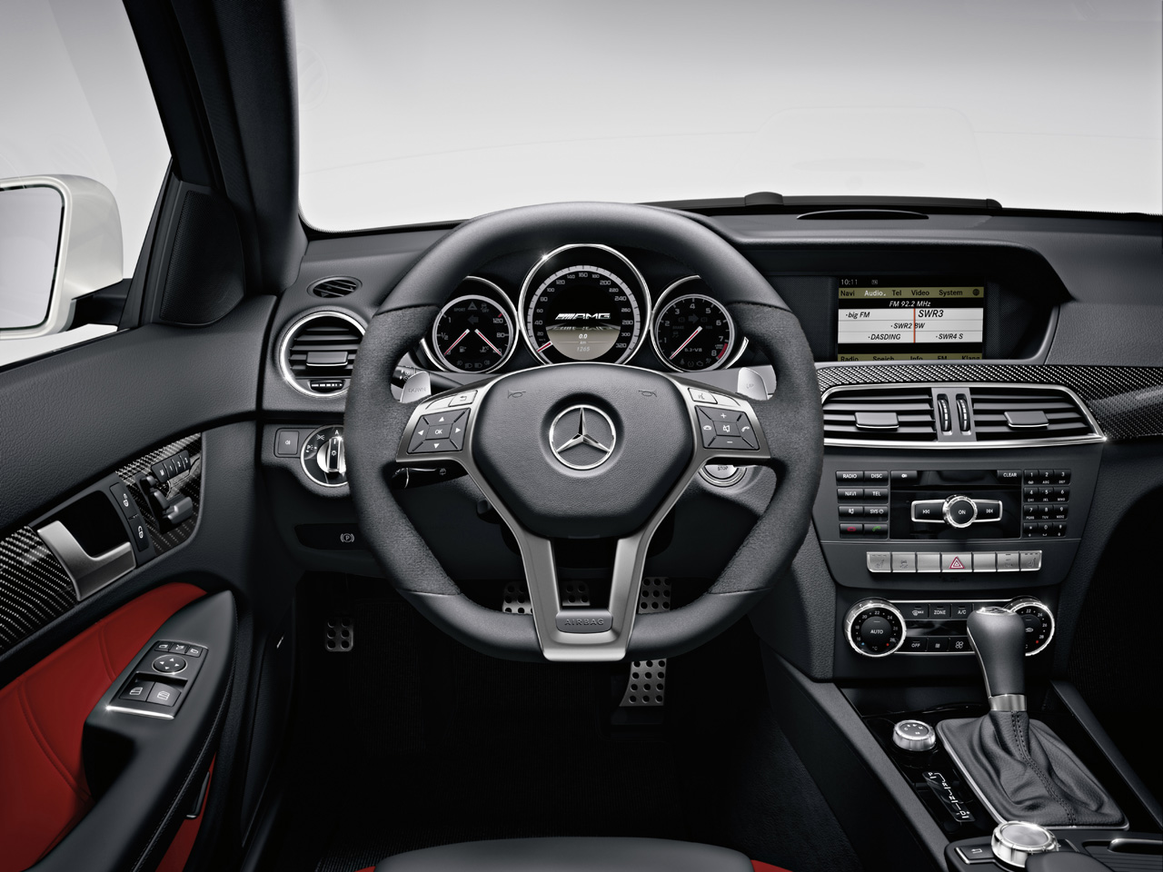 Official Mercedes Benz C63 Amg Coupe