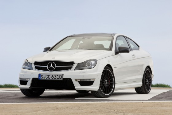Mercedes-Benz-C63-AMG-Coupe-Front-Three-Quarters