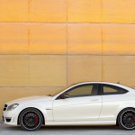 Mercedes-Benz-C63-AMG-Coupe-Left-Side