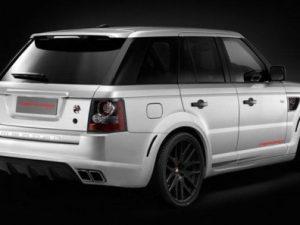 British Merdad Range Rover Sport
