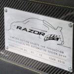 Limited Edition R8 Razor GTR-10