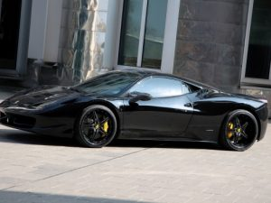 Ferrari 458 Black Carbon Edition Anderson Germany