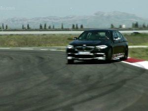 2012-BMW-M5-F10-At-Track-Side-Ways