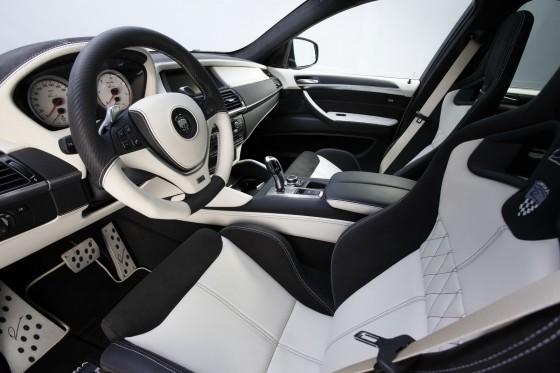 Interior of X6 by Lumma Design