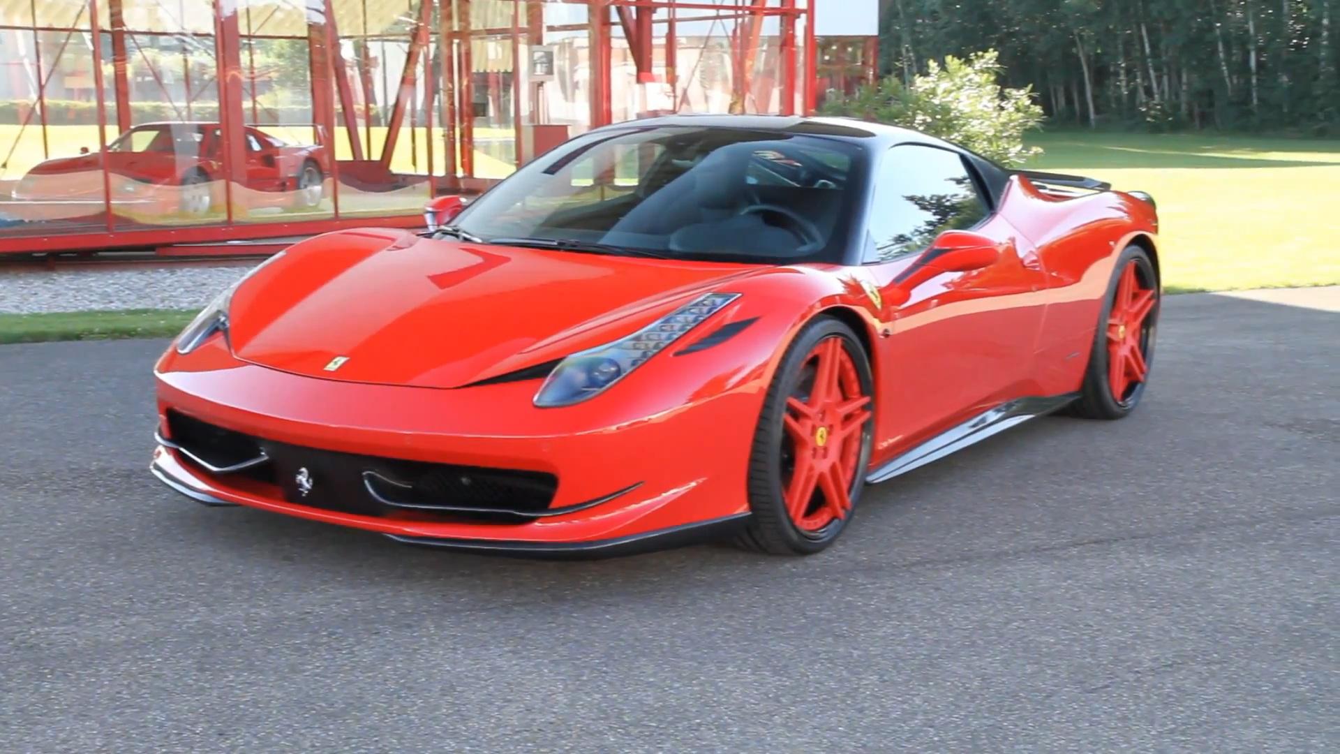Video: Novitec Rosso Ferrari 458 Italia  Ferrari 458 Spider Red