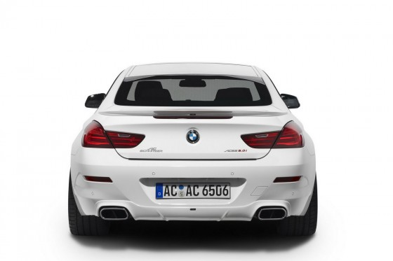 AC Schnitzer 2012 BMW 650i Rear