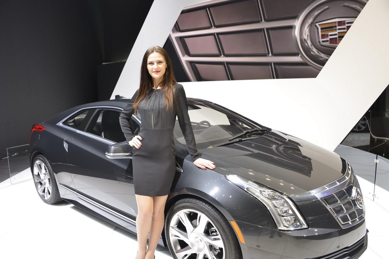 Hot girls of the geneva motor show - Auto motor show ...