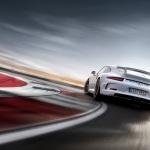White 911 GT3 991