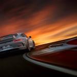991 Porsche 911 GT3 sun set