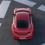 2014 Porsche 911 GT3 view from top