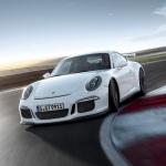 White 2014 Porsche 911 GT3