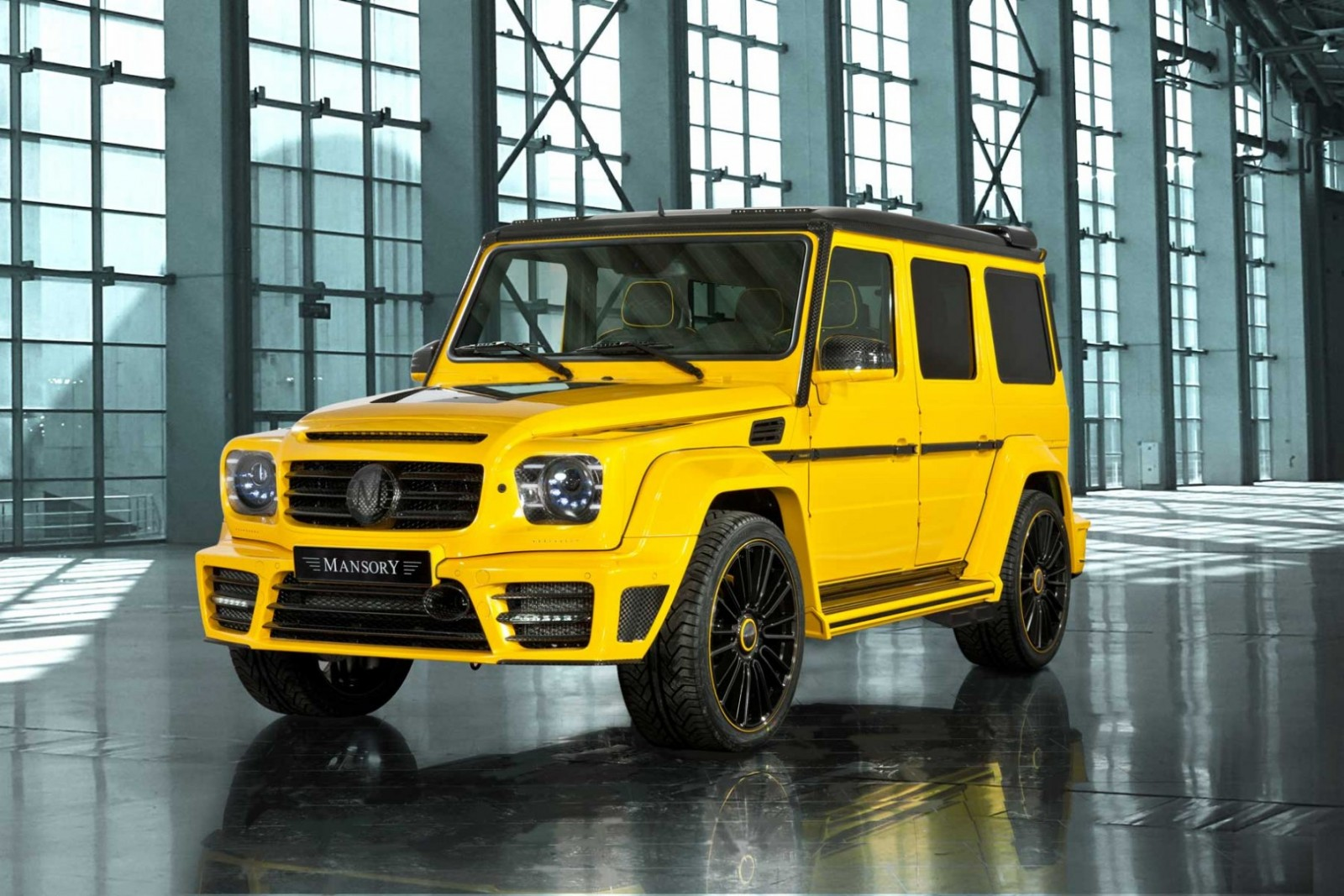 Mansory tuned Mercedes-Benz G63 AMG Gronos