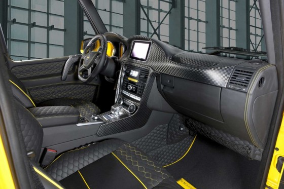 Mansory tuned Mercedes-Benz G63 AMG Gronos Interior