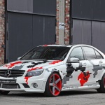 Modified Mercedes-Benz C63 AMG