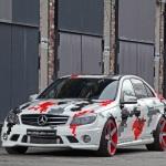 Tuned Mercedes-Benz C63 AMG