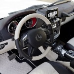 G63 AMG 6x6 interior front