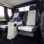 G63 AMG 6x6 interior rear