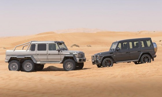 G63 AMG 6x6 and G63 AMG