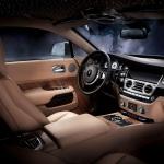 Rolls Royce Wraith dashboard