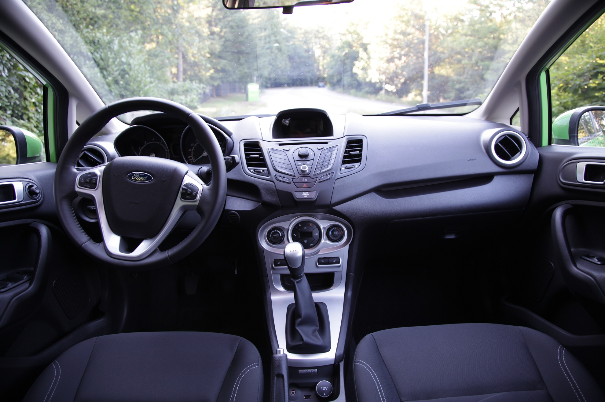 Ford Fiesta 1.0 interior