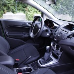 Ford Fiesta 1.0 front seats